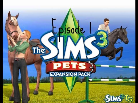 Let's Play The Sims 3: Pet Expansion Pack For Kids {Episode 1}