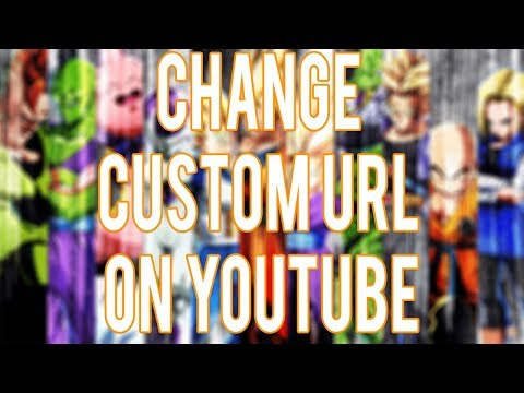 Tutorial: How to change your Custom YouTube URL for the second time (2017) new method