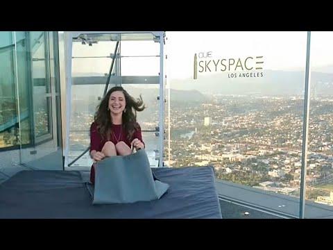 SKYSPACE SKYSLIDE LOS ANGELES | Full Tour Must Watch