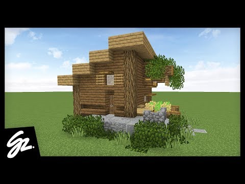 SURVIVAL STARTER HOUSE - How To Build A House in Minecraft