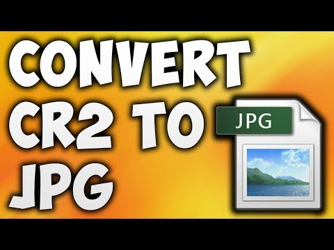 How To Convert Raw Images to JPG/JPEG | Batch Files | Photoscape