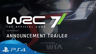 WRC 7 | Announcement trailer - The Beauty and the Beast  | PS4