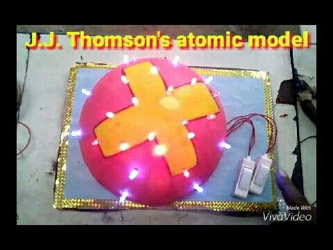 School project - J.J. Thomson's atomic model