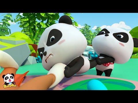 Baby Panda  Falls into Crystal Cave   Magical Chinese Characters   BabyBus
