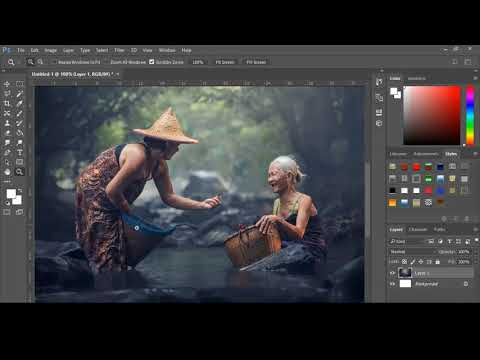color mode - Color matching in Photoshop CC tutorial (color mode)