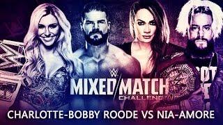 WWE MIXED MATCH CHALLENGE | MATCH CARD PREDICTION