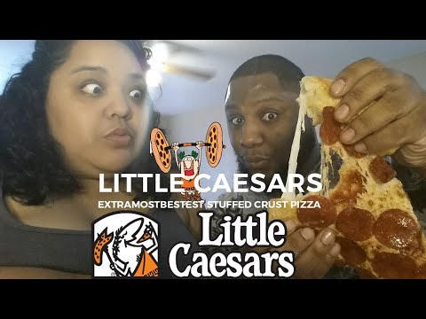 Little Caesars Hot-N-Ready  ExtraMostBestest Stuffed Crust Pizza Food Review