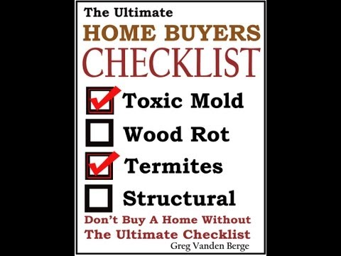 Home Termite Inspection -  #19 House Inspection Checklist