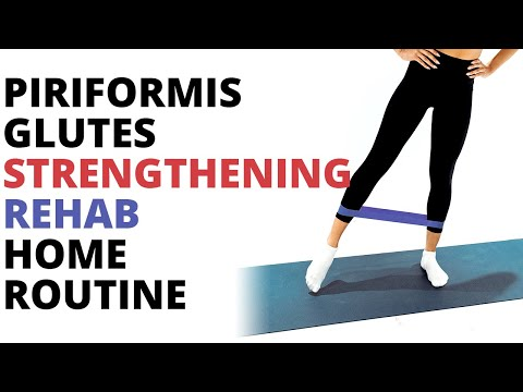 Glute strengthening routine for piriformis syndrome | Back Pain Bootcamp #6