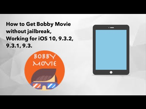 How to get Bobby Movie without Jailbreak, Working for IOS 10, 9.3.2, 9.3.1 and 9.3.