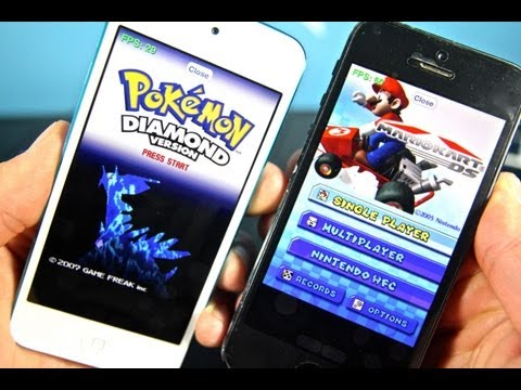 How To Install Nintendo DS Emulator On iPhone, iPod Touch & iPad iOS 6 & 7 Without Jailbreak!