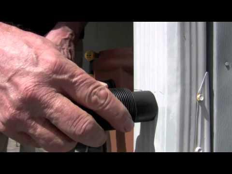 Installing a rainbarrel