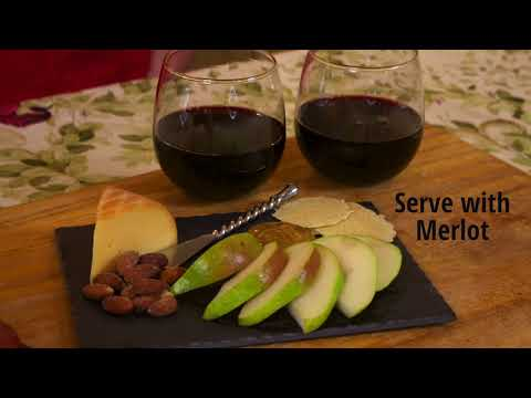 Holiday Pear, Cheese, and Wine Pairing Guide - The Produce Moms