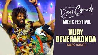 Vijay Deverakonda MASS DANCE Performance | Dear Comrade Music Festival | Rashmika Mandanna