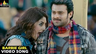 Mirchi Songs , Barbie Girl Video Song , Latest Telugu Video Songs , Prabhas, Richa