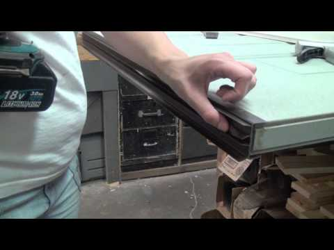 How to Replace a Door Bottom / Sweep: Screw-In (Wrap-around / L-shaped)