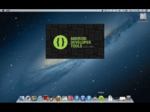 Twenty Minute Tutorial : Installing The New Android SDK on Mac OS X