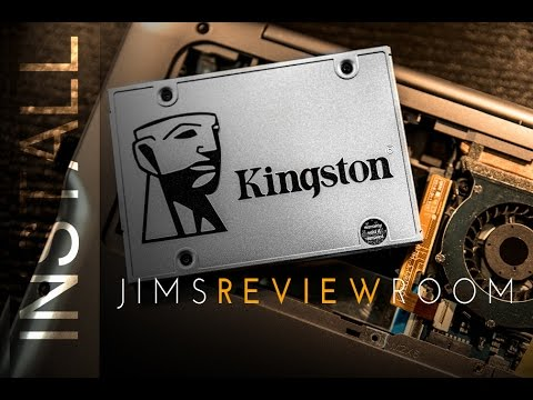 How to upgrade your harddrive with an SSD - KINGSTON SSD INSTALL KIT
