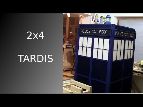 ⚔ Making a TARDIS from a single 2x4