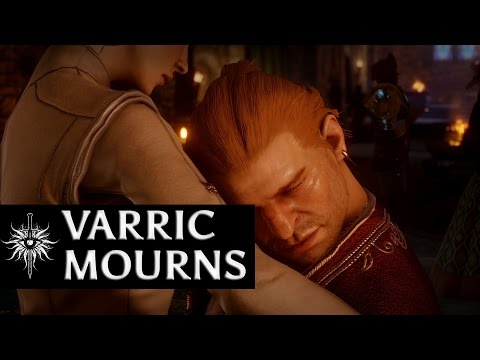 Dragon Age: Inquisition - Varric mourns humorous Hawke