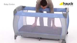 Hauck Baby Center Travel Cot - How To Fold and Build | BabySecurity