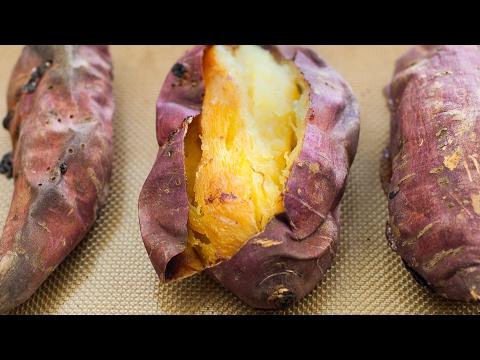 Bake Sweet Potato in Oven