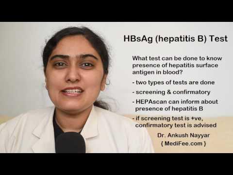 HBsAg (Hepatitis B Surface Antigen) Blood Test