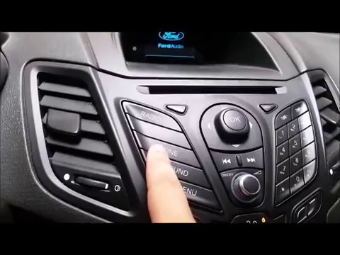How To Enter Ford Fiesta Radio Code