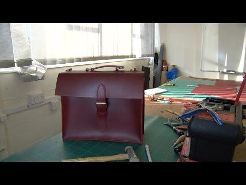 A Handmade Gentlemen's Briefcase