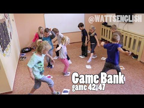 Game bank | game 42 - 47 | WattsEnglish