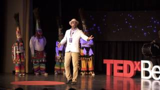 Listen to the call of the Gombey Drum | Irwin Trott & Warwick Gombey Troupe | TEDxBermuda