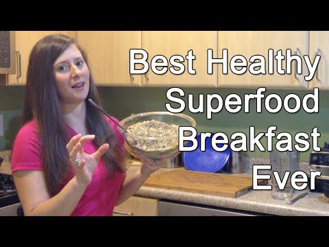 The BEST Healthy Superfood Breakfast Ever