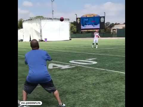 Watching An Average Person Trying To Catch A Baker Mayfield Bullet Pass Is Hilariously Sad