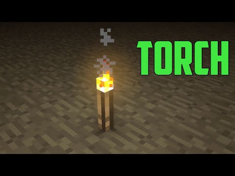 PS4 Minecraft- How to make a charcoal torch.