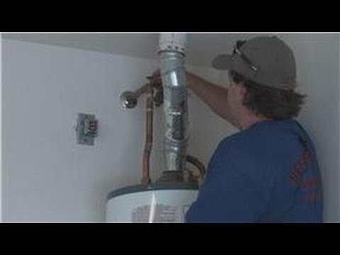 Hot Water Heaters : How to Change a Gas Valve on a Hot Water Heater