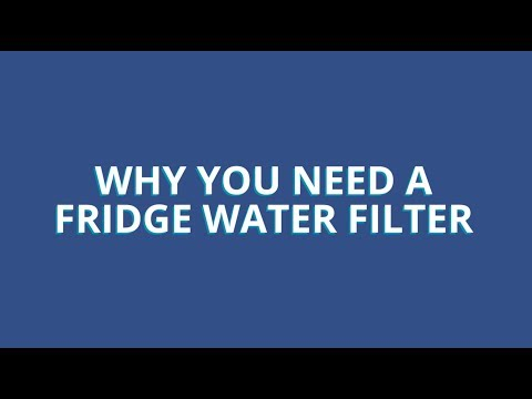 Why You Need a Refrigerator Water Filter