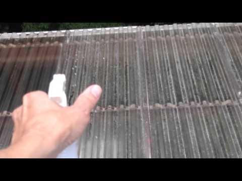 pressure wash polycarbonate