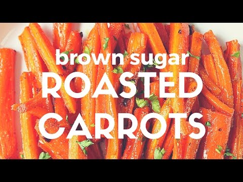 Brown Sugar Roasted Carrots Recipe