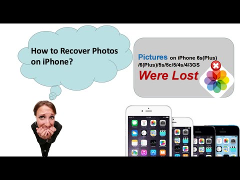 [iPhone Photo Recovery]Recover Deleted Photos from iPhone se 6s 6 5s 5 4s