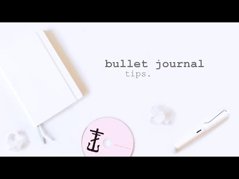 Bullet Journal    8 Tips to Make Your Life Less Stressful and More Productive
