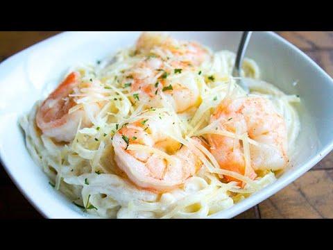 Easy Shrimp Alfredo