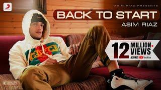 Asim Riaz: Back to Start | Debut Single | Latest Rap Song 2021
