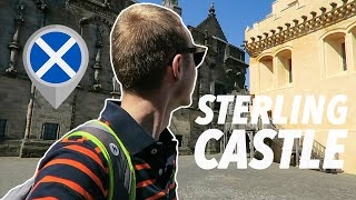 exploring STIRLING CASTLE (former capital of Scotland)