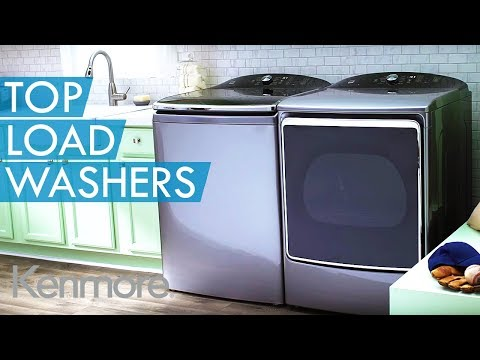 NEW Kenmore Elite Top Load Large Capacity Washer w/ Quad Action Impeller