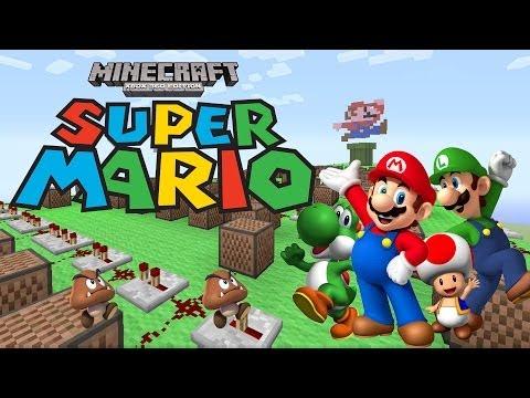 Super Mario Theme Song  | ♫ Minecraft Xbox 360 Noteblock Song ♫