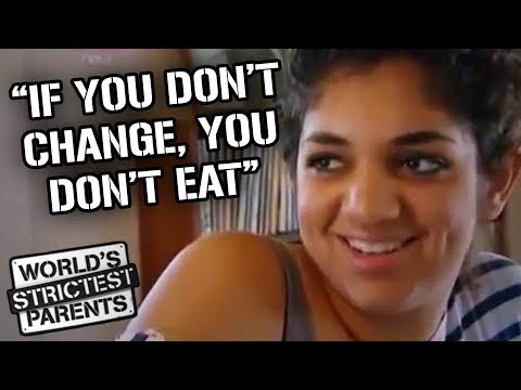 Dad Won't Let Daughter Eat Food Until She Changes Clothes | World's Strictest Parents