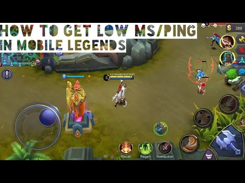 Mobile Legends: How to get low ms/ping in Mobile Legends