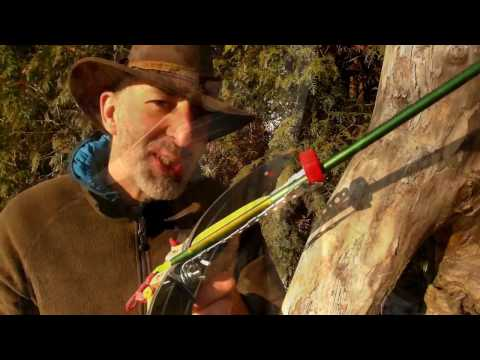 How to make/DIY: SLINGBOW / CROSSBOW