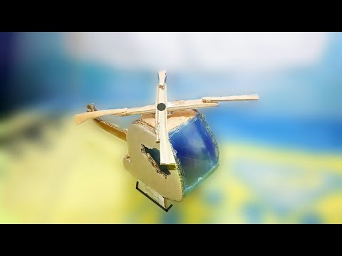 How To Make Helicopter Out Of Cardboard Without Motor Homemade