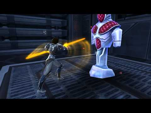 SWTOR Furious Double-Bladed Lightsaber